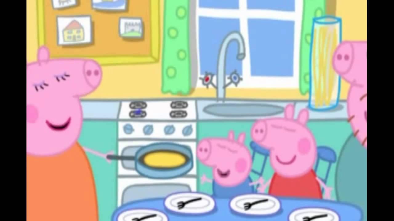 pig peppa pancakes cartoon episodes