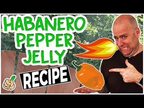 How to Make Habanero Pepper Jelly Recipe (No Glove Edition)