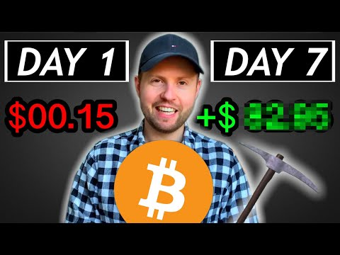 I Tried Mining Bitcoin on My Computer (7 Days)