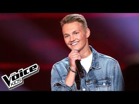 Adam Kubera - 'As Long As You Love Me' - Przesłuchania w ciemno - The Voice Kids 2 Poland