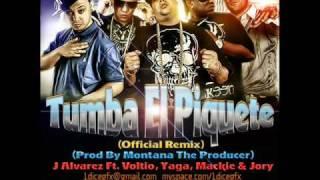 J Alvarez Ft. Voltio, Yaga, Mackie & Jory - Tumba El Piquete