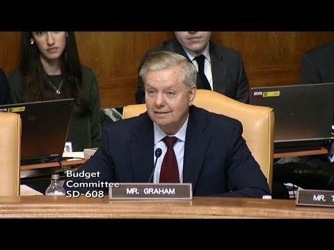 Graham Questions OMB Director Mulvaney on Trump Budget Proposal