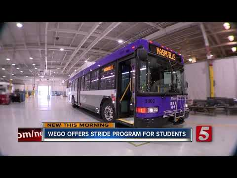 Metro Nashville high school students can ride WeGo buses for free