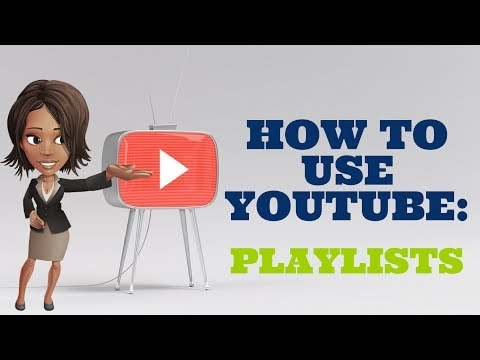 How to create, delete and rearrange your YouTube playlist