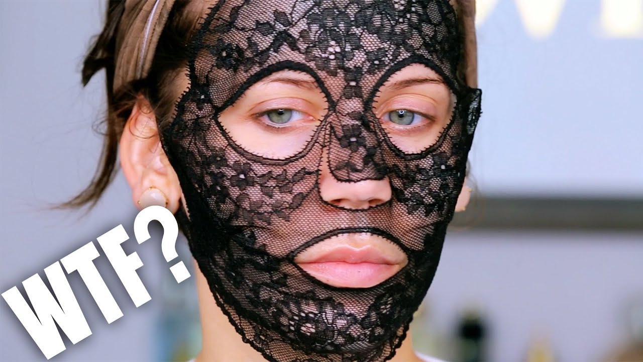 330 lace face mask wtf youtube