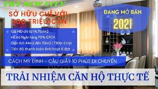 [Review] THT NEW CITY - Căn hộ thực tế | Căn hộ chung cư nhà ở xã hội Hoài Đức Hà Nội dưới 1 Tỷ