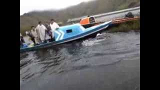 Naufragio en la laguna de Cumbal