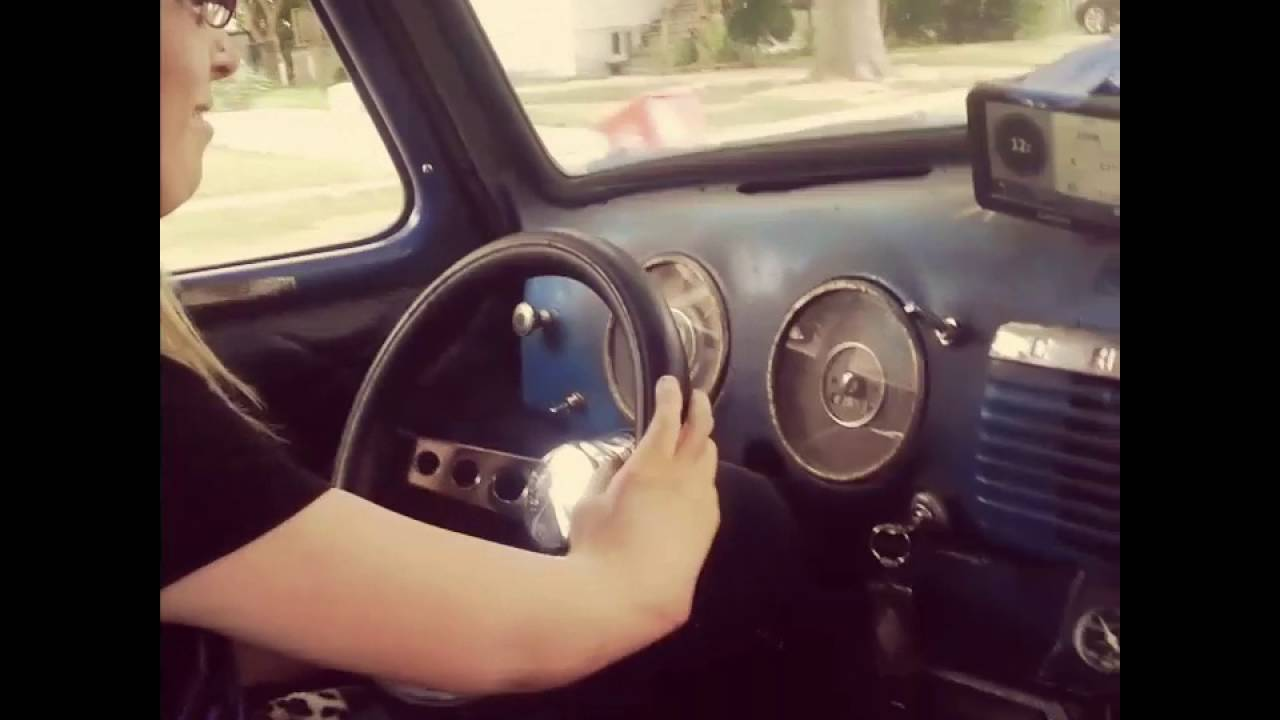 Old Chevy Truck >> inspirational woman with TAR syndrome driving an old Chevy ...