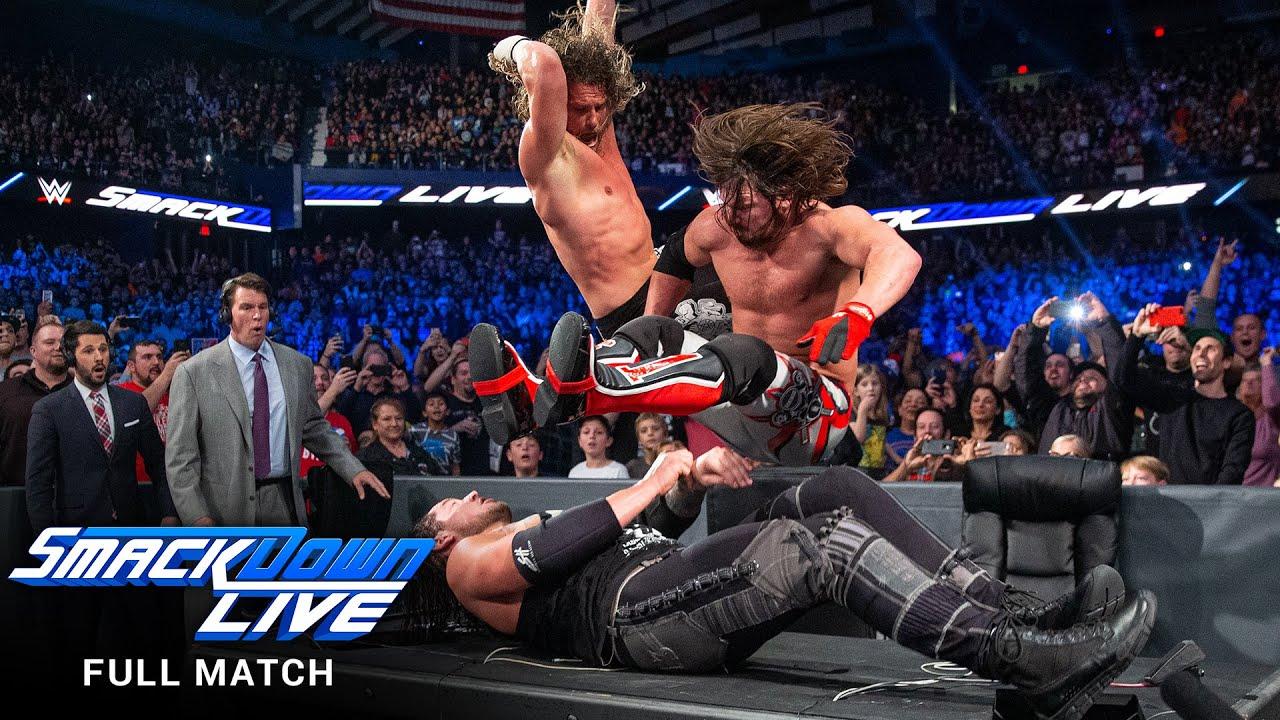 FULL MATCH: Styles vs. Ziggler vs. Corbin - WWE Championship Match: SmackDown LIVE, Dec. 27, 2016