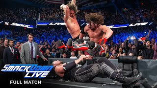 FULL MATCH: Styles vs. Ziggler vs. Corbin - WWE Championship Match: SmackDown LIVE, Dec. 27, 2016