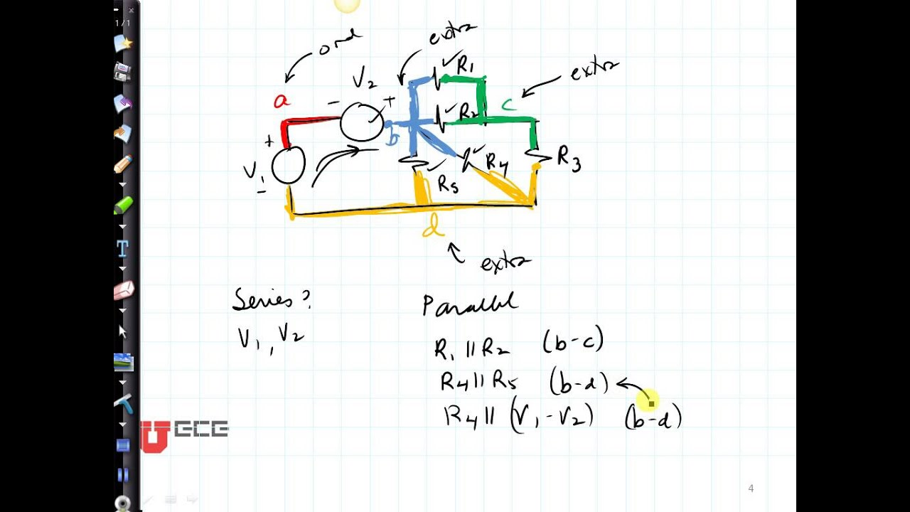 Circuits  How To Tell If Something Is In Parallel
