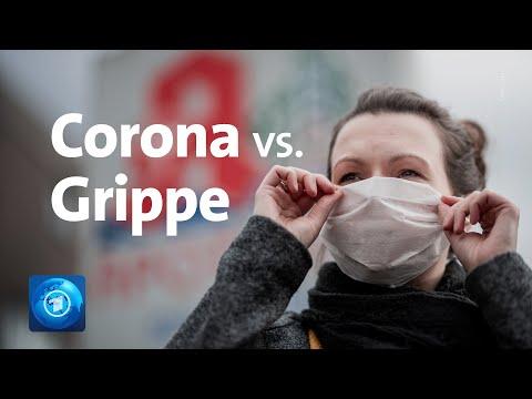 Corona Vs. Grippe