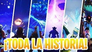 ¡TODA LA HISTORIA DE FORTNITE EN UN SOLO VIDEO!