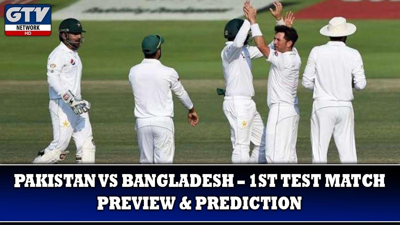 Pakistan vs Bangladesh – 1st Test Match Preview & Prediction   Sport Update
