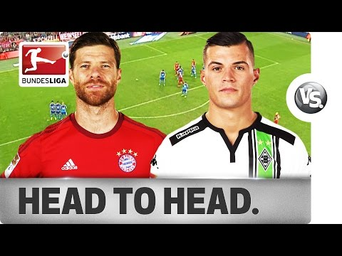 Xabi Alonso vs. Granit Xhaka - Midfield Generals Go Head-to-Head