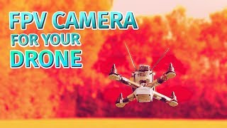 How to make a drone | FPV camera and transmitter