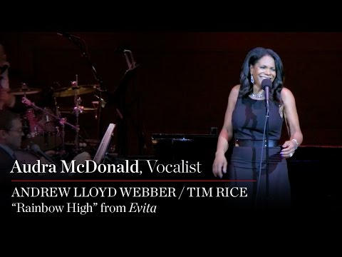 Audra McDonald Sings Rainbow High from Evita