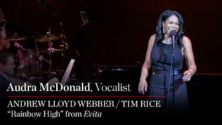 "Audra McDonald Sings ""Rainbow High"" from Evita"