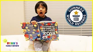 RYAN TOYSREVIEW BROKE THE WORLD RECORD!!!