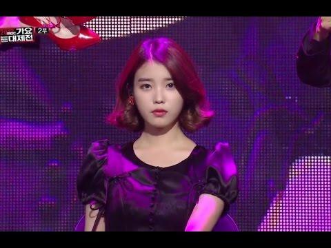 [가요대제전] IU - The red shoes, 아이유 - 분홍신, KMF 20131231