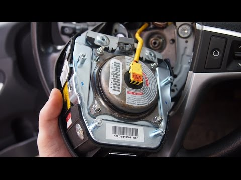 Снятие датчика поворота руля и подушки безопасности Hyundai I30