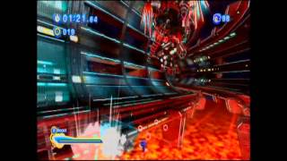 Sonic Generations Egg Dragoon fight with Discod Egg Dragoon remix