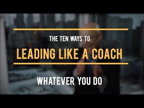 Leading Like A Coach