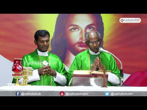 Holy Mass @  night vigil service,Divine Mercy Retreat Centre, Elavuru, Chennai