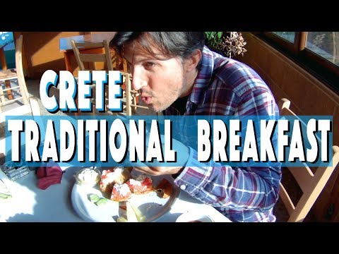 Travel Greece:  The Tradiontal Breakfast Of Crete