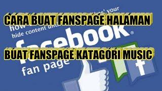 Download lagu Cara buat fanspage music facebook