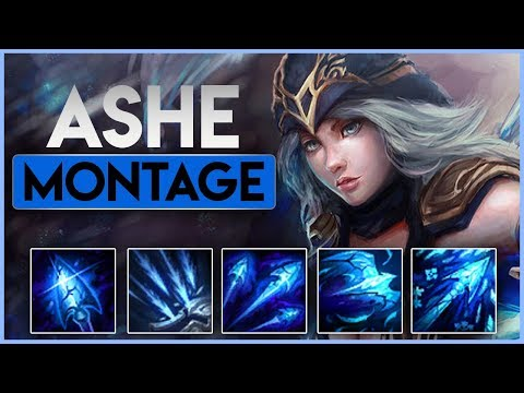 Ashe Montage - Best Ashe Plays 2018 - Leauge of Legends