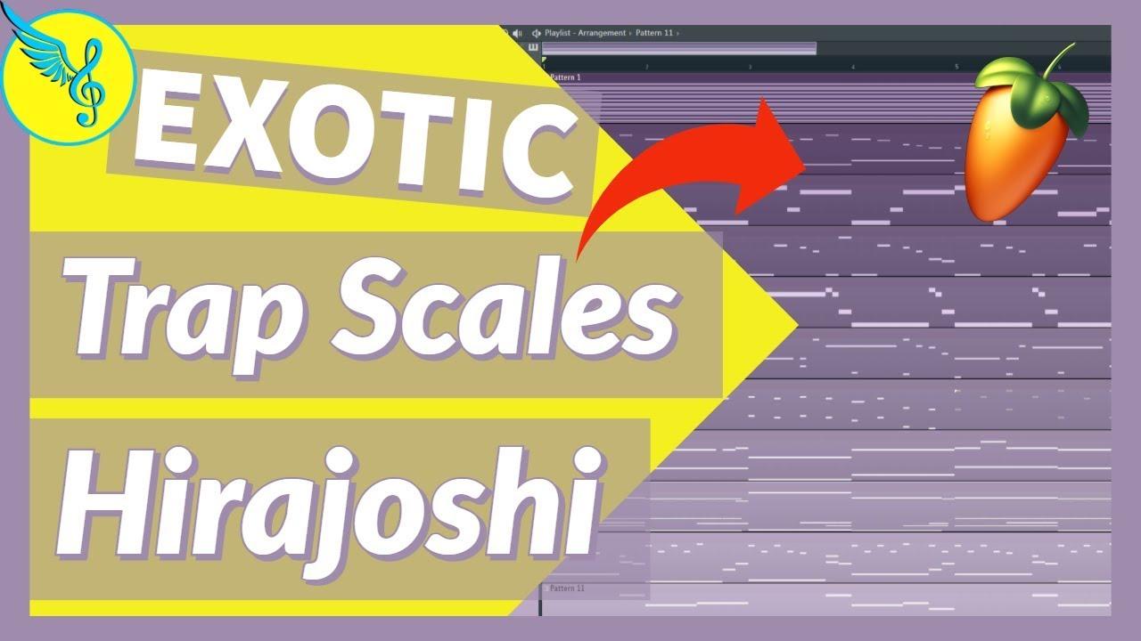 FREE MIDI KIT | Trap Melody Tutorial | Hirajoshi Scale | FL Studio