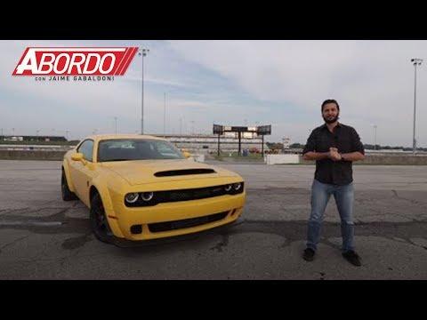Dodge Challenger SRT Demon 2018 - Prueba A Bordo Completa