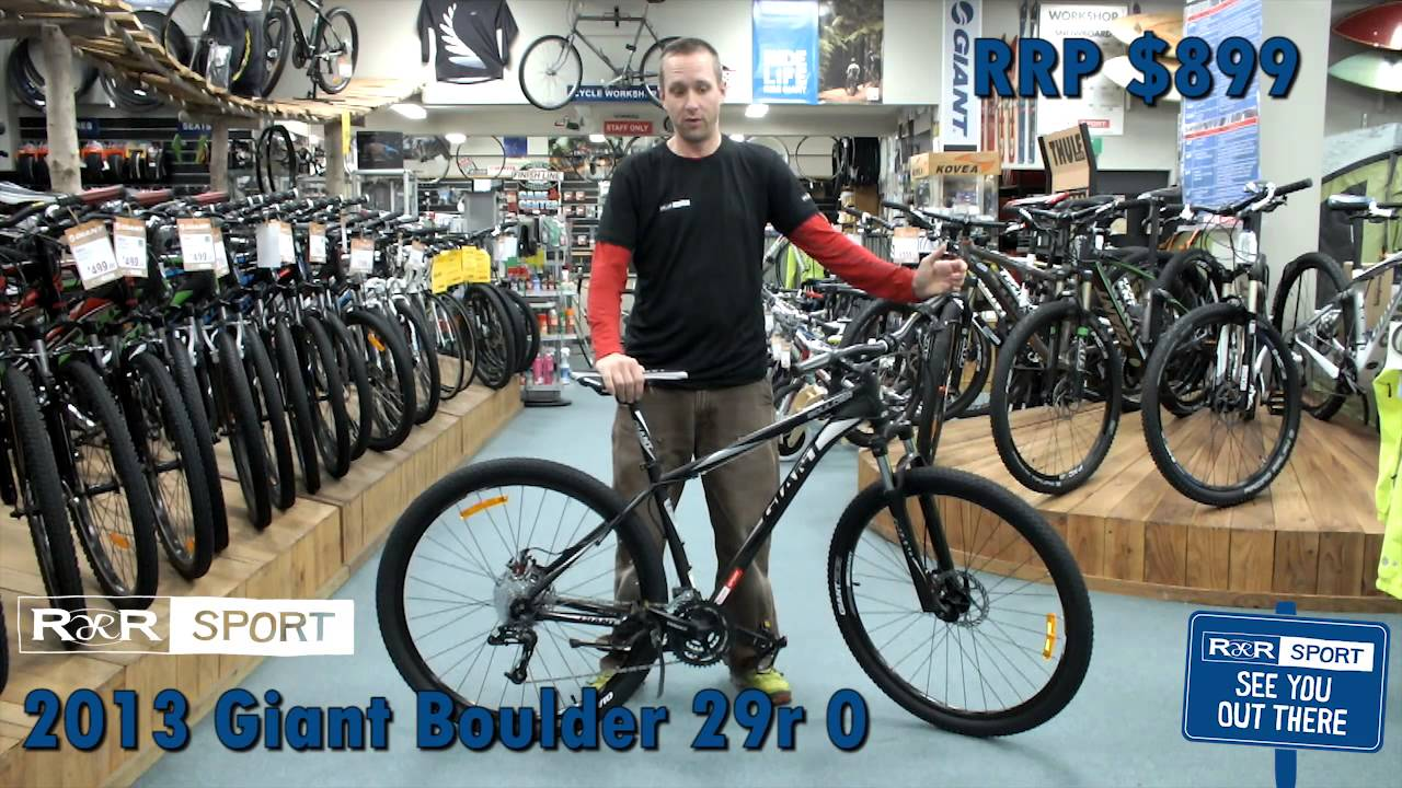 giant boulder mountain bike review