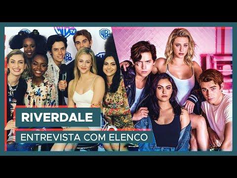 RIVERDALE | Entrevista com elenco e Camila Mendes falando português!