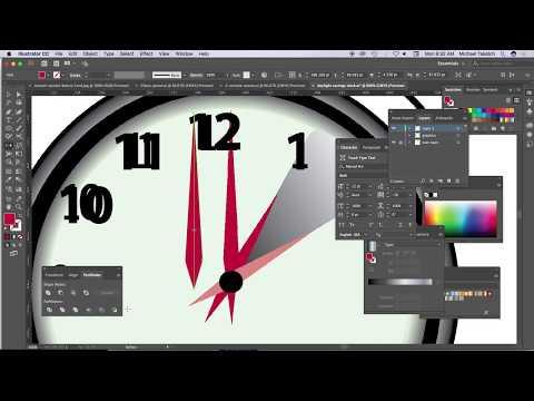 Daylight savings clock created with AI