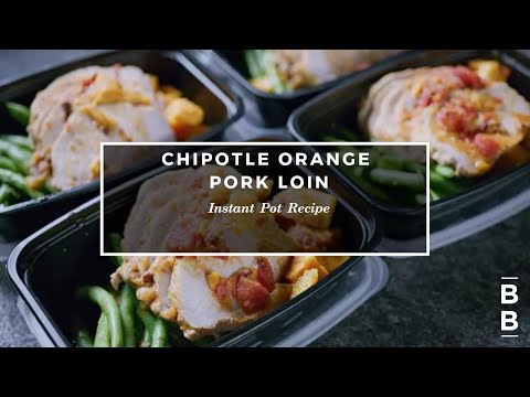 Slow Cooker Chipotle Orange Pork Loin With Sweet Potatoes