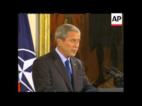 US takes steps to get Albania, Croatia into NATO; NATO Sec Gen