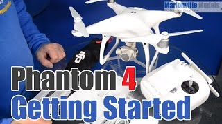 DJI Phantom 4 Getting Started Guide. Charging, Calibration, Activating, Flight Controls