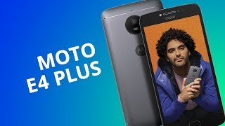 Motorola Moto E4 Plus [Análisis / Review en español]