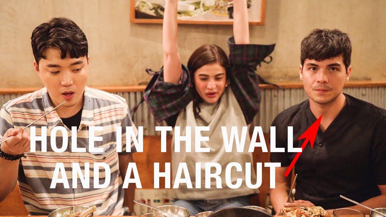 erwan heussaff gets a korean hair makeover inspired by park
