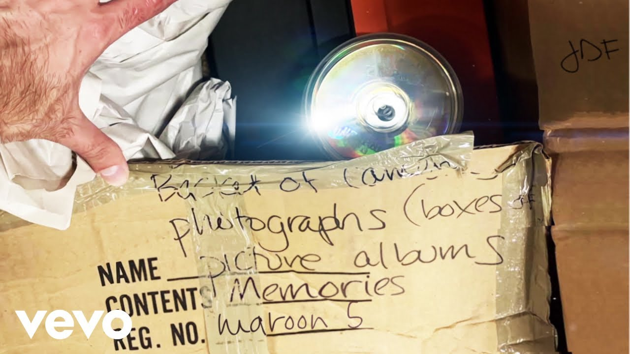 Resultado de imagem para Maroon 5 - Memories (Audio)