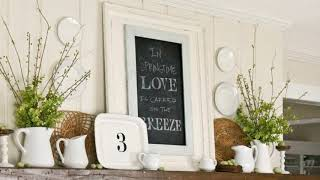 Gambar cover 27+ ideas for decorating above a fireplace mantel