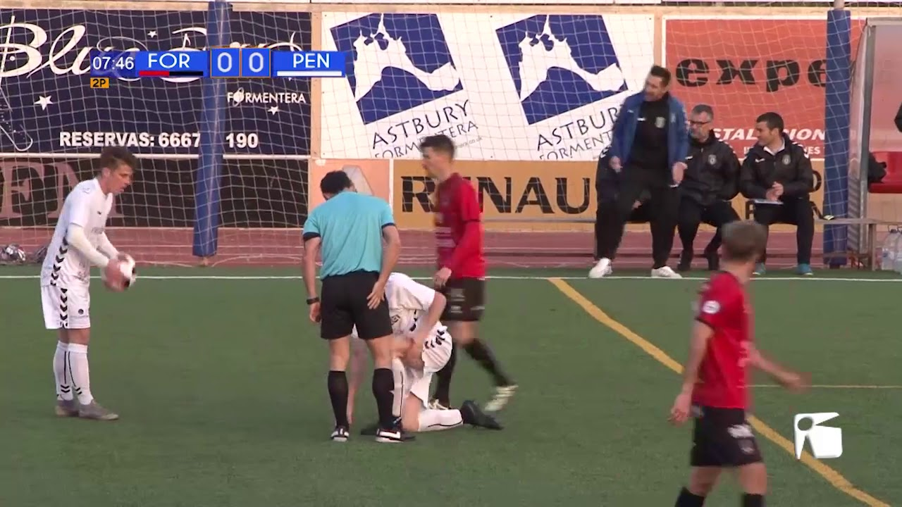 Futbol  SD Formentera vs Penya Esportiva 17 02 - Segona part - YouTube 1355bbc718828