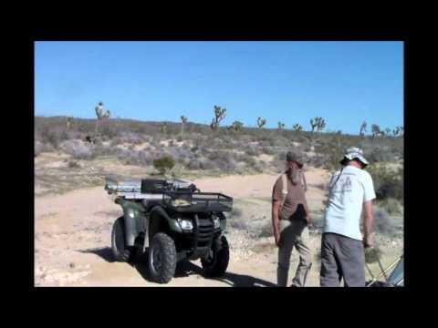 Gold Prospecting  Mojave Desert