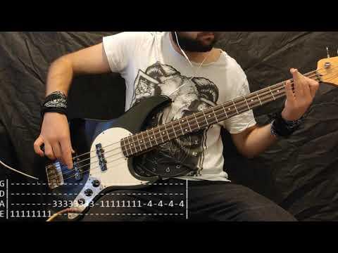 Avril Lavigne - Sk8er Boi Bass Cover (Tabs)