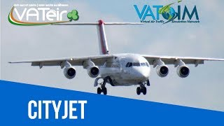[VATSIM Flight ✈️] The Avro is back baby! [Qualitywings Avro RJ/146] [P3Dv4] Live Stream 13/11/2018