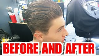 Fade in Full |Before and After| New Wahl wireless Magic Clips!