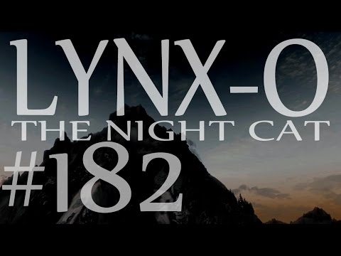 Lynx-O the Night Cat 182 -