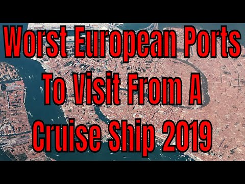 Worst European Cruise Ports To Visit From A Cruise Ship In 2019 Crowds Taxes Prices Heat